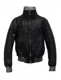 Mens jackets online: Carol Christian Poell LM/2399 reversible black bomber jacket