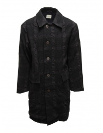 Sage de Cret dark gray checked coat online