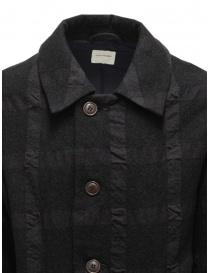 Sage de Cret cappotto grigio scuro a quadri prezzo