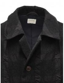 Sage de Cret dark gray checked coat mens coats buy online