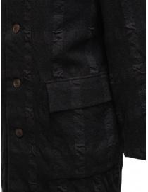 Sage de Cret cappotto grigio scuro a quadri cappotti uomo prezzo