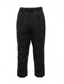 Sage de Cret dark gray checked trousers price