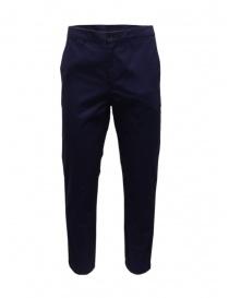 Golden Goose pantaloni chino blu navy online