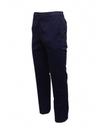 Golden Goose pantaloni chino blu navy