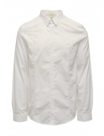 Golden Goose camicia bianca in cotone da uomo online