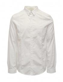 Golden Goose men's white cotton shirt G21U522.B4