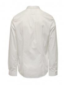 Golden Goose camicia bianca in cotone da uomo prezzo