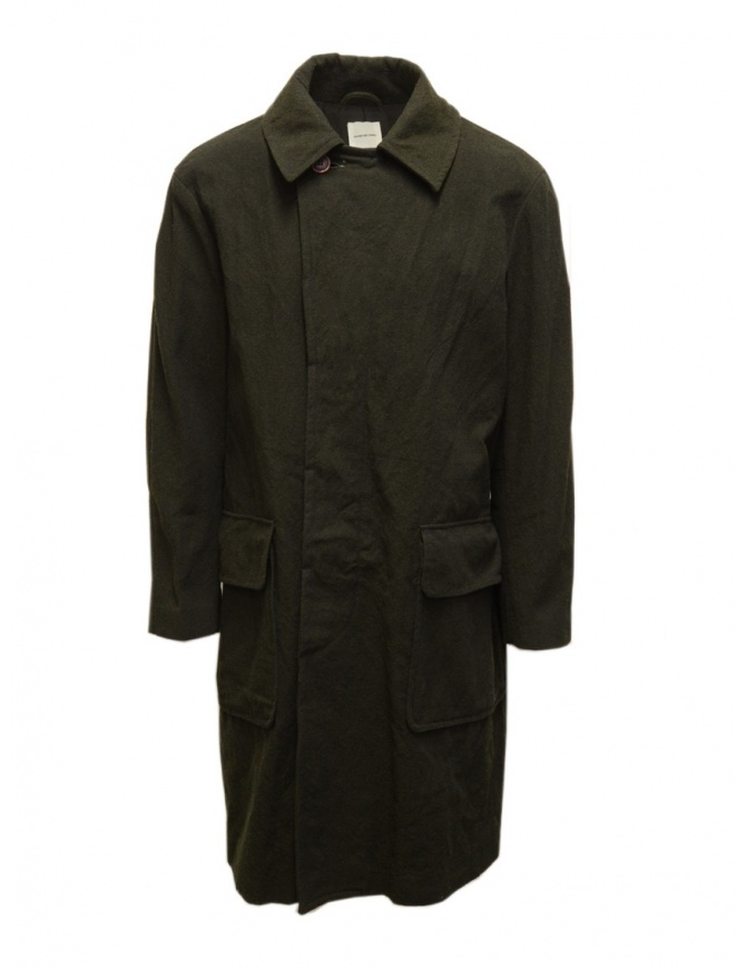 Sage de Cret cappotto verde khaki 31-90-9376 43 KHAKI cappotti uomo online shopping