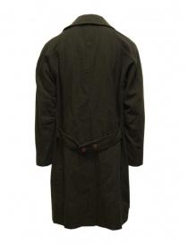 Sage de Cret cappotto verde khaki