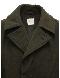 Sage de Cret cappotto verde khaki cappotti uomo acquista online