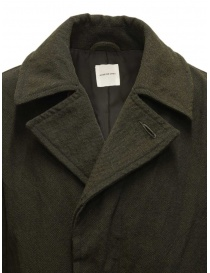Sage de Cret khaki green coat mens coats buy online
