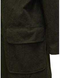 Sage de Cret cappotto verde khaki cappotti uomo prezzo