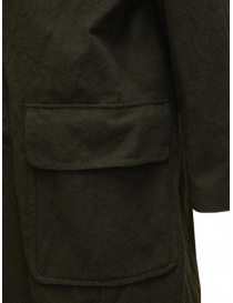Sage de Cret khaki green coat mens coats price