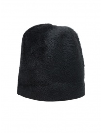 Hats and caps online: Scha Taiga hat in dark gray rabbit fur and felt