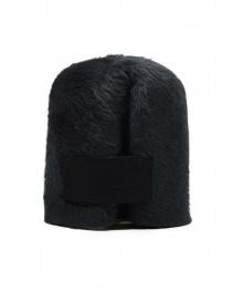 Scha cappello Taiga grigio scuro pelo di coniglio e feltro