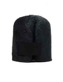 Scha Taiga hat in dark gray rabbit fur and felt