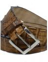 Post&Co PR43CO cognac crocodile leather belt shop online belts