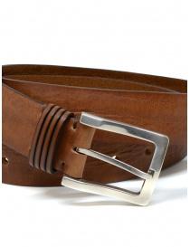 Post&Co PR11 cognac-colored leather belt