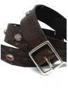 Post&Co 7815 cintura in pelle con perle incastonateshop online cinture