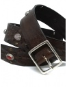 Post&Co 7815 leather belt with embedded pearls shop online belts