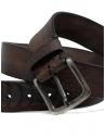 Post&Co TC316 belt in brown ostrich leather shop online belts