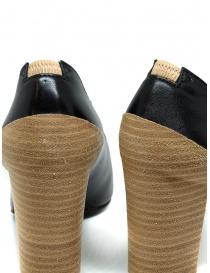 Scarpa Décolleté Petrosolaum in pelle nera calzature donna acquista online