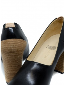 Petrosolaum black leather decolleté shoes womens shoes price