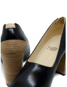 Petrosolaum black leather decolleté shoes price 8190-PO03 BLK shop online