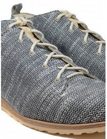 Scarpe Petrosolaum in tessuto bianco e nero calzature uomo acquista online