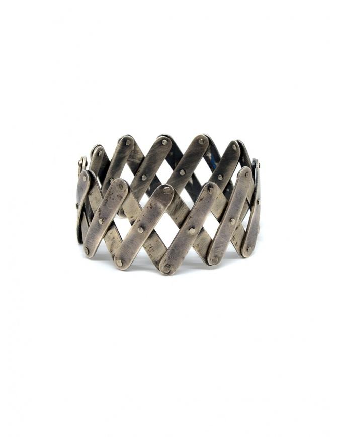 Carol Christian Poell bracciale pantografo in argento MM/2409 MM/2409 SILVER PANTOGRAPH preziosi online shopping