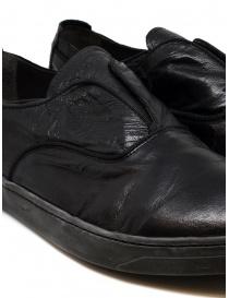 Scarpa Shoto in pelle di canguro nero prezzo