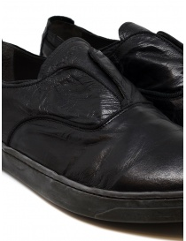 Shoto black kangaroo leather shoes price
