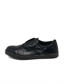 Shoto black kangaroo leather shoes