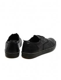Scarpa Shoto in pelle di canguro nero calzature uomo acquista online