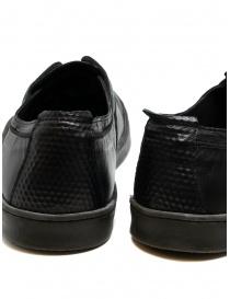Scarpa Shoto in pelle di canguro nero calzature uomo prezzo