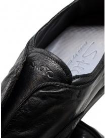 Scarpa Shoto in pelle di canguro nero acquista online prezzo