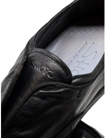 Shoto black kangaroo leather shoes buy online price