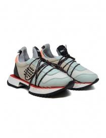 Calzature donna online: Sneakers BePositive Nitro azzurre/beige