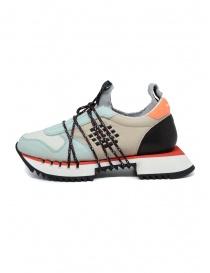 Sneakers BePositive Nitro azzurre/beige