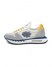 BePositive Cyber Run white and yellow sneakers price