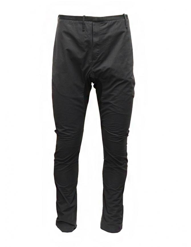 Label Under Construction pantalone saddle nero 23FMPN51CO160 23/0-9 pantaloni uomo online shopping
