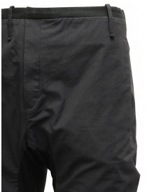 Label Under Construction black saddle pants mens trousers buy online