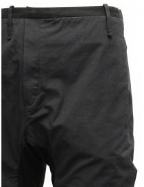 Label Under Construction pantalone saddle nero pantaloni uomo acquista online