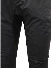 Label Under Construction pantalone saddle nero pantaloni uomo prezzo