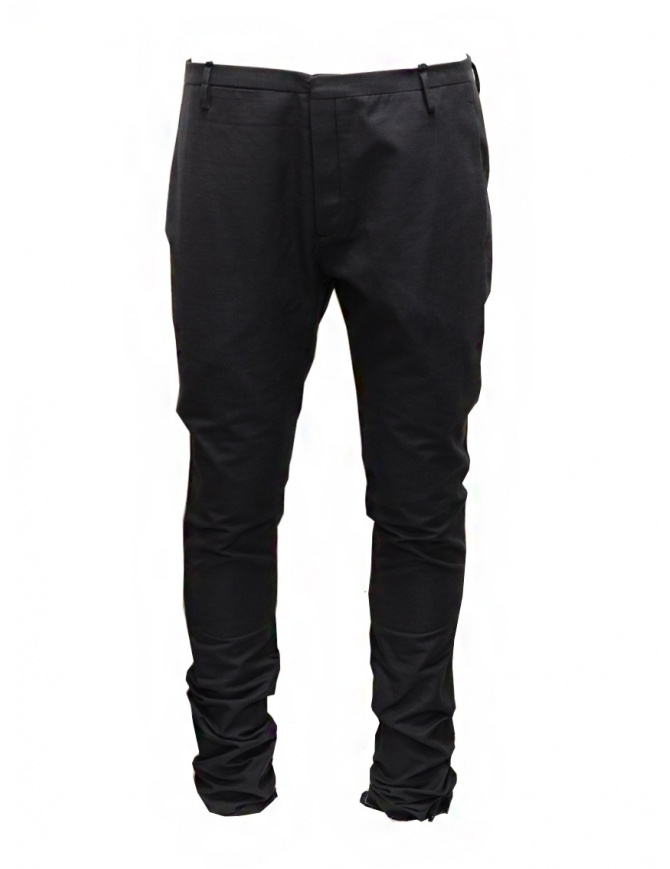 Label Under Construction classic pants with frayed cuff 25FMPN54 CO17SA 25/6 mens trousers online shopping