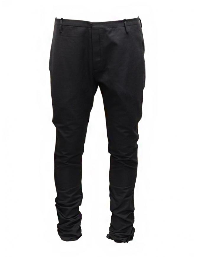 Label Under Construction pantaloni classici con risvolto sfrangiato 25FMPN54 CO17SA 25/6 pantaloni uomo online shopping