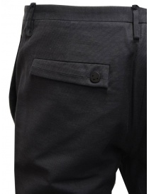 Label Under Construction classic pants with frayed cuff mens trousers buy online