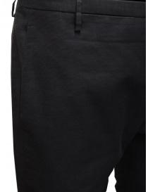 Label Under Construction pantaloni classici con risvolto sfrangiato pantaloni uomo prezzo