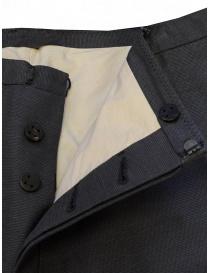 Label Under Construction pantaloni classici con risvolto sfrangiato