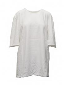 Carol Christian Poell mini abito cotone bianco TF/0984 abiti donna prezzo